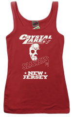 FRIDAY 13th PART 3 Jason Voorhees CRYSTAL LAKE Slashers RINGER T-Shirt
