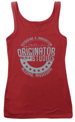 BO DIDDLEY inspired ORIGINATOR Studios blue T-Shirt