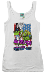 RAMONES inspired HAPPY FAMILY PIZZA T-Shirt