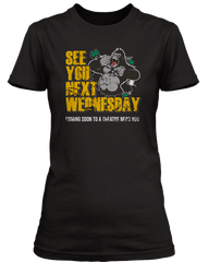BLUES BROTHERS inspired SEE YOU NEXT WEDNESDAY T-Shirt