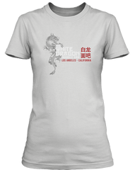 BLADE RUNNER movie inspired WHITE DRAGON NOODLE BAR T-Shirt