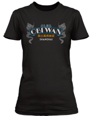 INDIANA JONES AND THE TEMPLE OF DOOM movie inspired CLUB OBI WAN T-Shirt