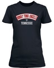 KITTY WELLS inspired IT WASNT GOD WHO MADE HONKY TONK ANGELS T-Shirt