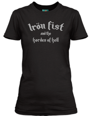 MOTORHEAD secret gig inspired IRON FIST AND THE HOARDS OF HELL T-Shirt