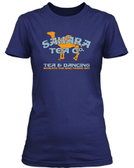 POLICE inspired TEA IN THE SAHARA T-Shirt