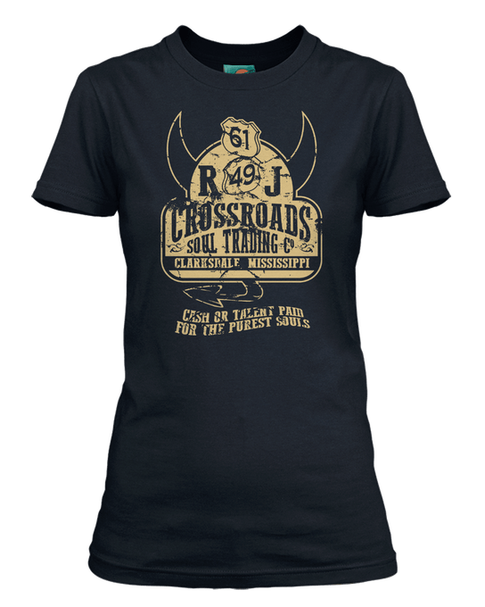 Robert Johnson Delta Blues Crossroads Soul Trading inspired T-Shirt