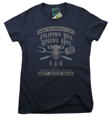 TOM WAITS inspired FILIPINO BOX SPRING HOG T-Shirt