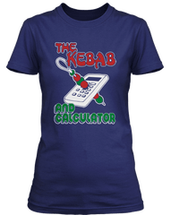 YOUNG ONES inspired KEBAB AND CALCULATOR pub T-Shirt