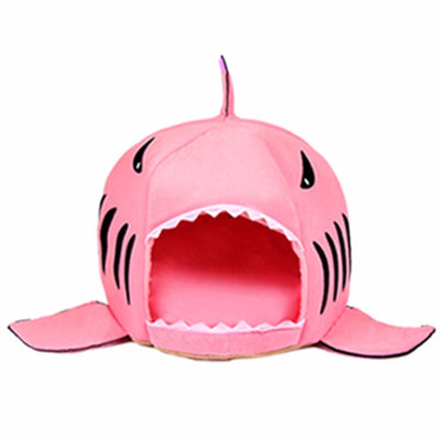 Pink Shark Bed