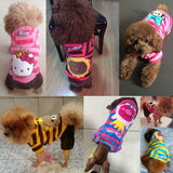 Cartoon Printed Dog Hoodie