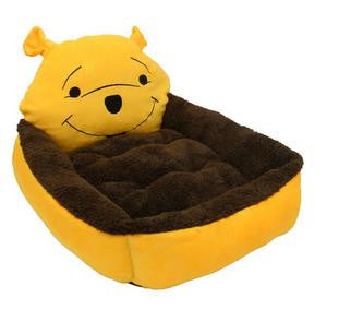 Character Plush Pet Bed