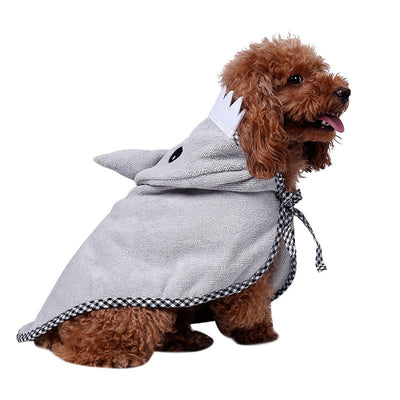 Cute Character Pet Bath Towel