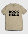 Book Nerd Typography T-Shirt