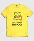 Dekhti hi Rahogi - Men - T-Shirt - Yellow - Large - Sale