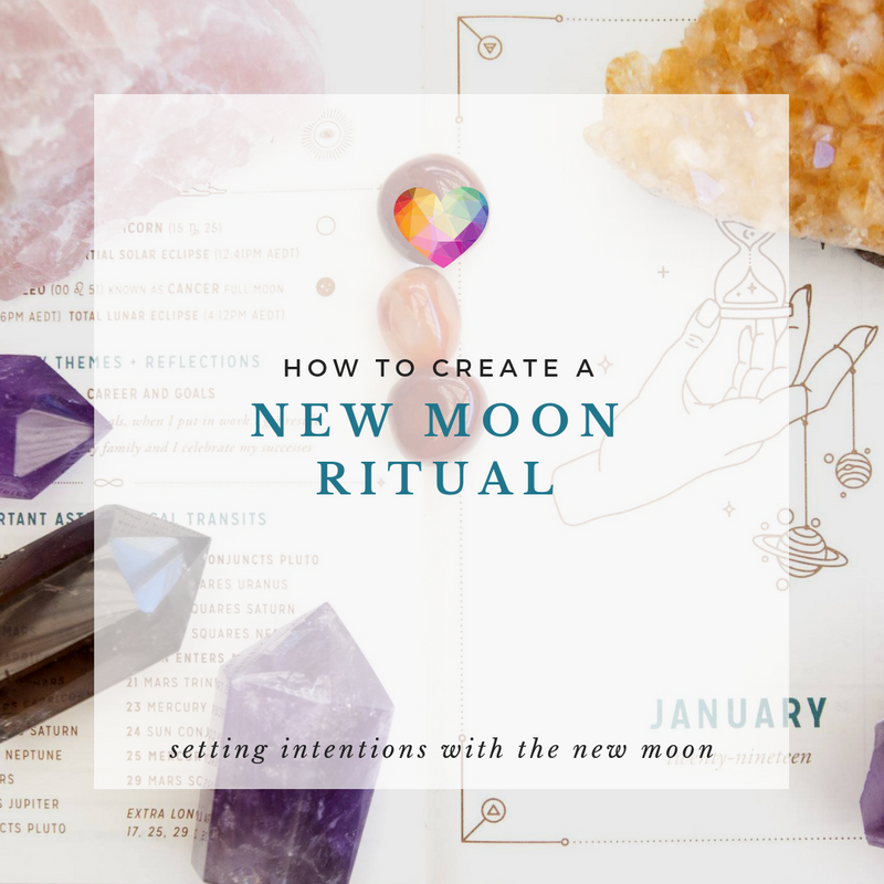 New Moon Intention Setting Ritual
