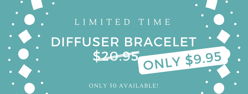 Limited Offer Diffuser Bracelet for $9.95