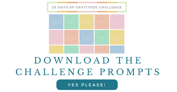 Download the Gratitude Challenge Prompts
