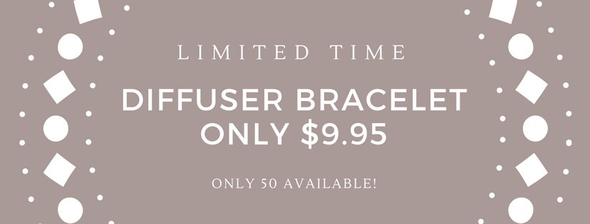LIMITED OFFER Diffuser Bracelet only $9.95