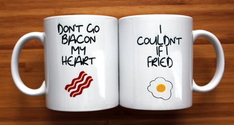 Sorella Designs Don't Go Bacon My Heart Mug