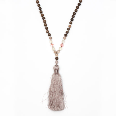 I Speak My Truth Throat Chakra Mala