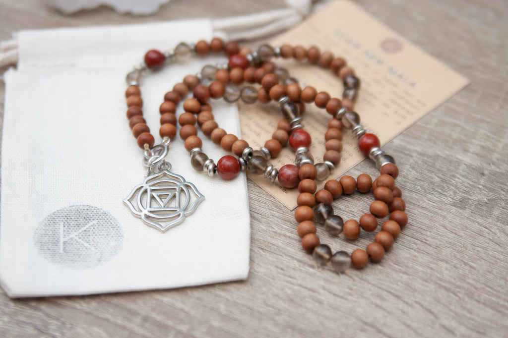 I Am Grounded Root Chakra Mala