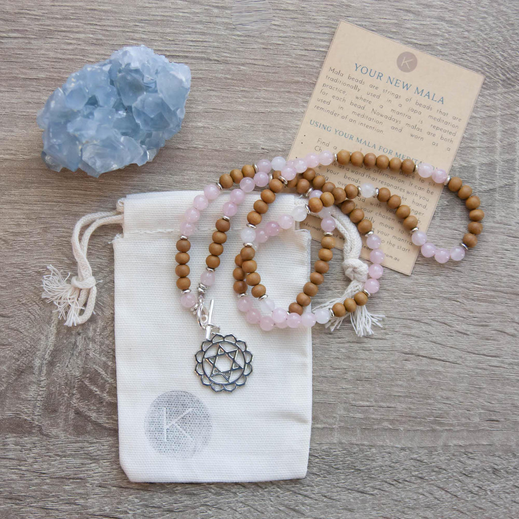 I Am Loved Heart Chakra Mala