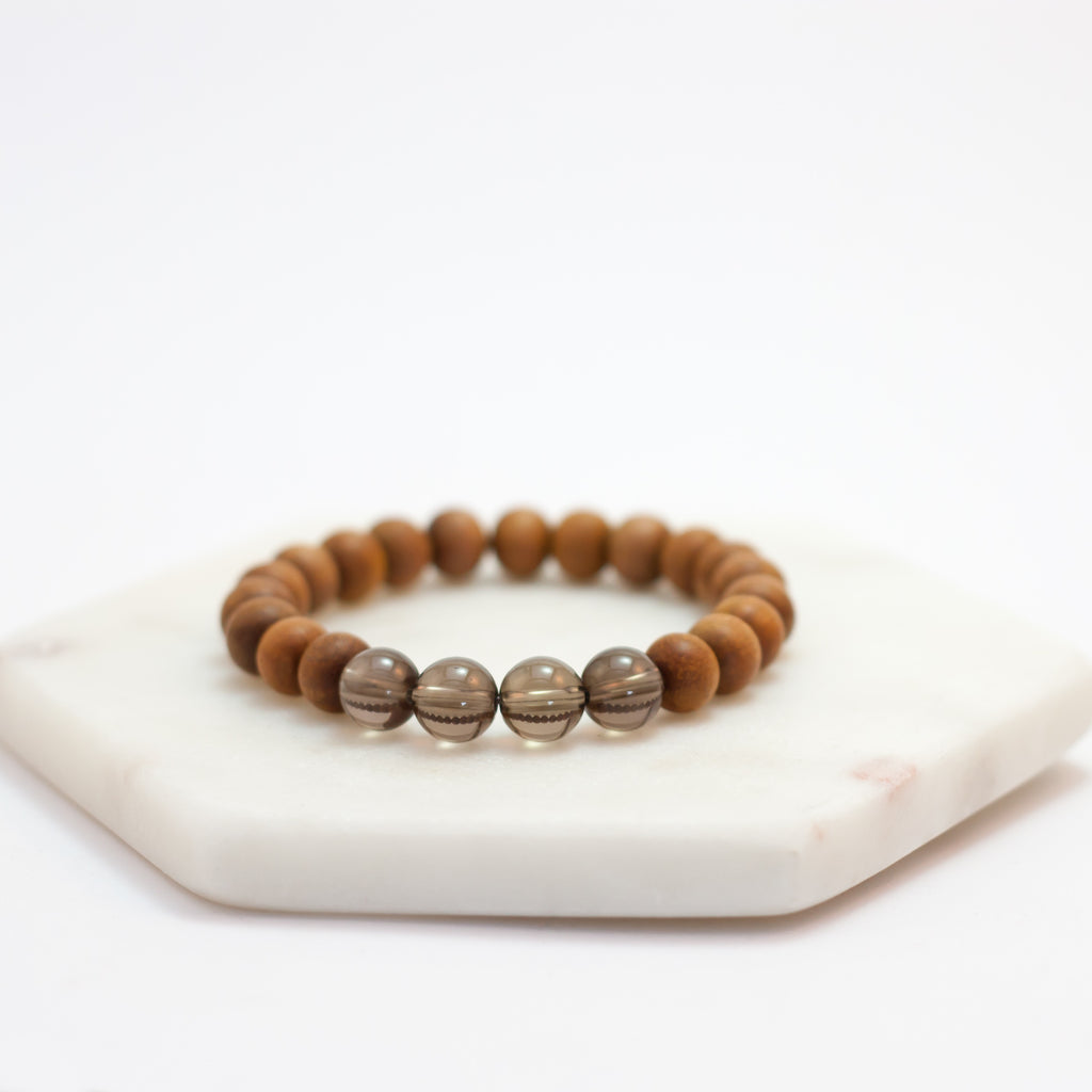 Spirit Bracelet - Smoky Quartz