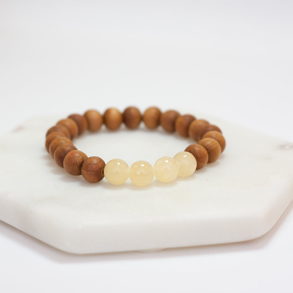 Spirit Bracelet - Yellow Jade