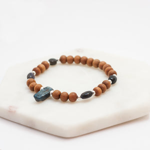 I Am Intuitive Third Eye Chakra Bracelet