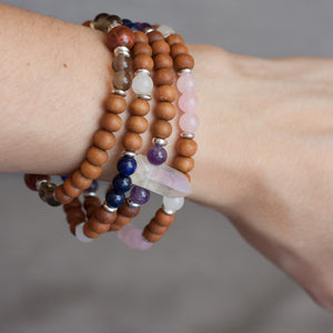I Am Enlightened Crown Chakra Bracelet