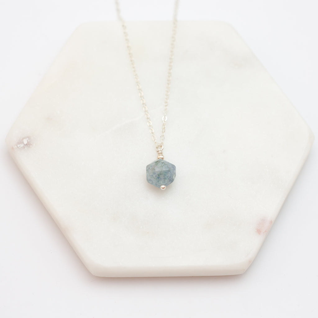necklace christie pendant aquamarine aqua marine jewels online christies eco s