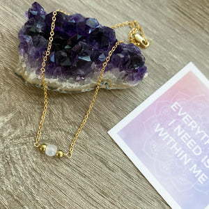 Moonstone Necklace Sample