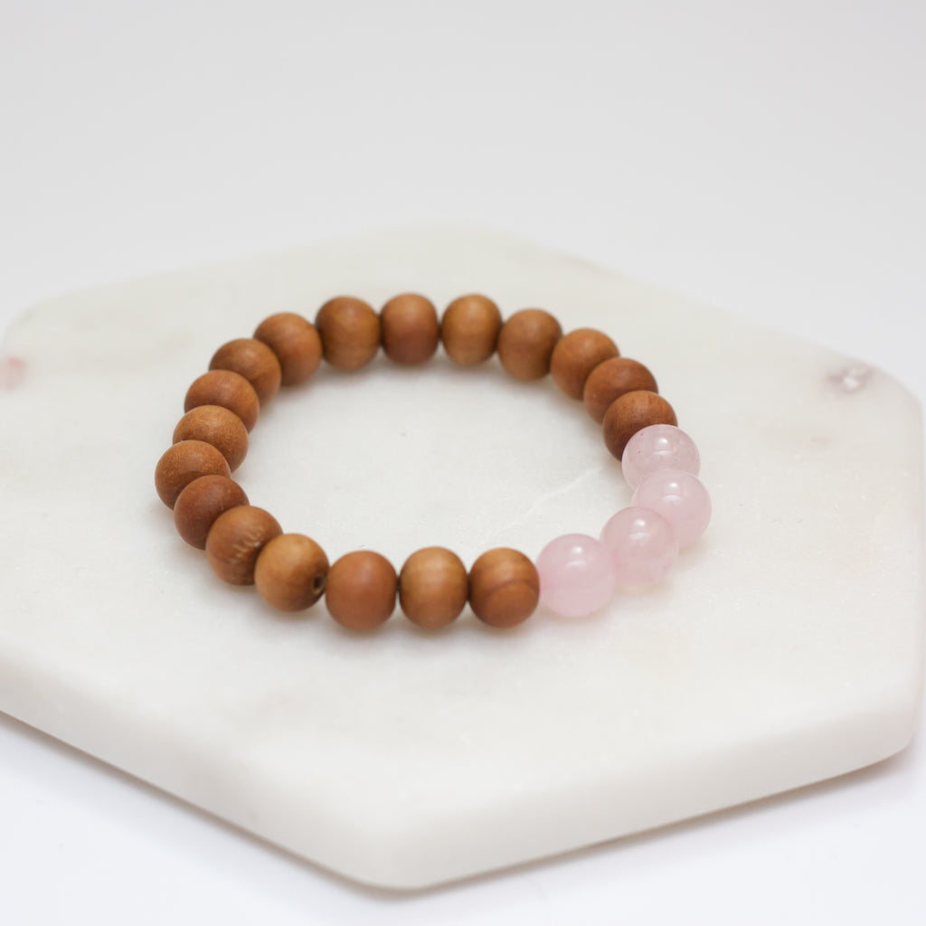 Spirit Bracelet - Rose Quartz