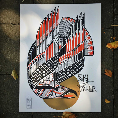 Skyfather Artwork by David Hale