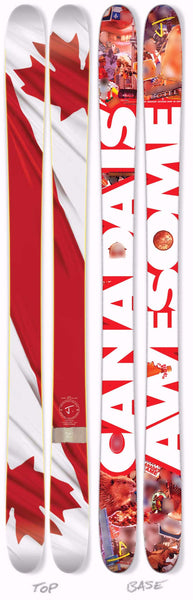 "The Allplay ""CANADA IS AWESOME"" Limited Edition Ski"
