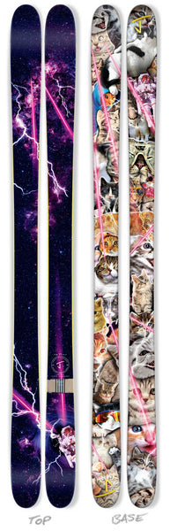 "The Whipit ""CATS IN SPACE"" Limited Edition Ski"