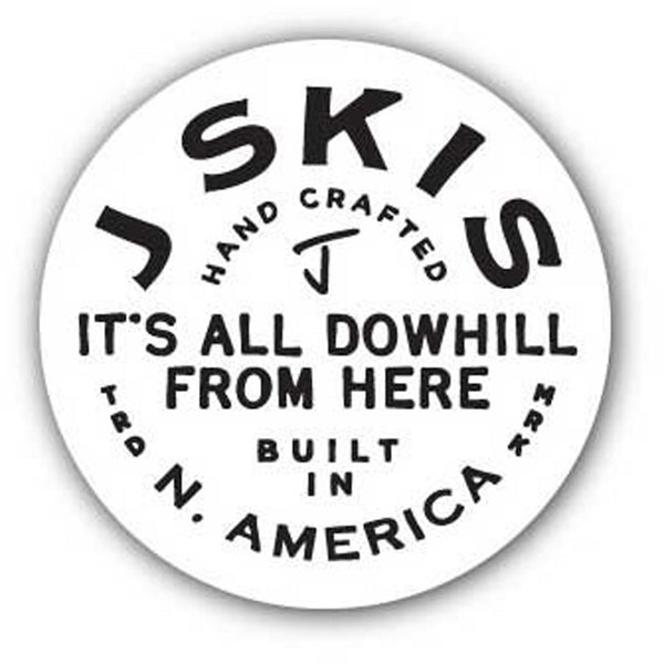 Downhill Sticker