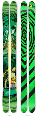 "The Whipit ""GREEN GOBLIN"" Steve Stepp x J Collab Limited Edition Ski"