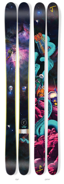 "The Vacation ""COSMIC OCTOPUS"" Limited Edition Ski"