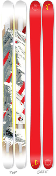 "The Metal ""RIDGELINE"" - Adam Haynes x J Collab Limited Edition Ski"