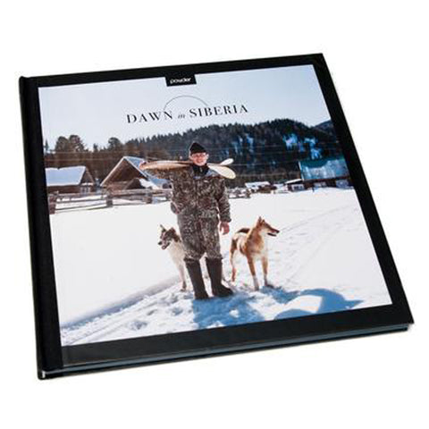 Dawn in Siberia Coffee Table Book