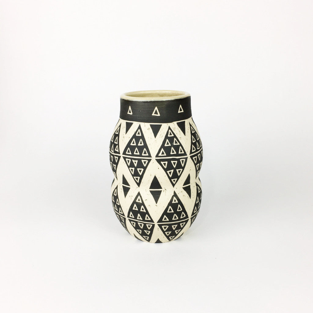 PATTERNED VASE NO. 2