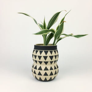 PATTERNED VASE NO. 9