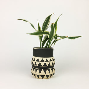 PATTERNED VASE NO. 10