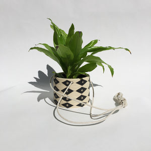 MEDIUM HANGING PLANT POT  (made to order)