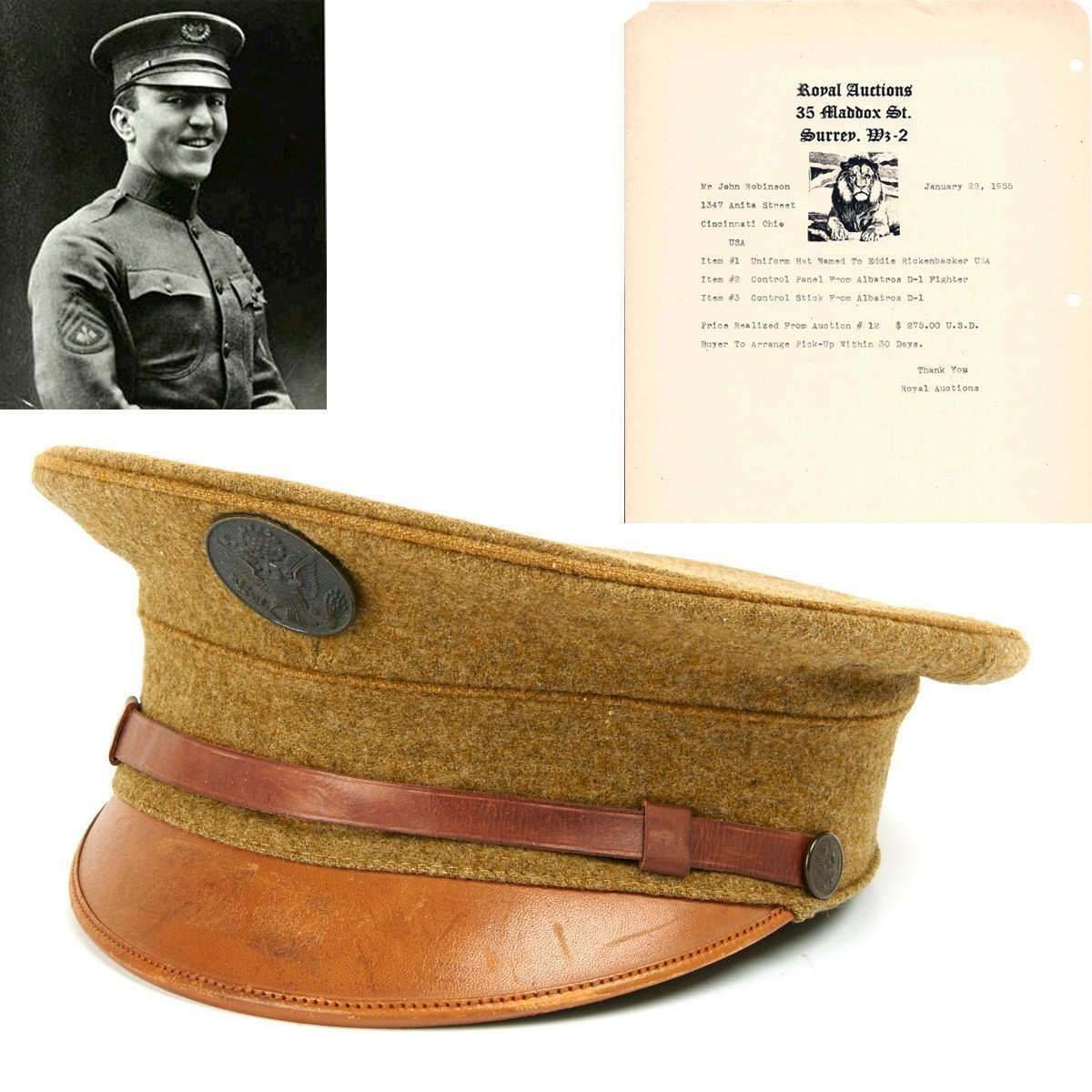 Military Hats and Caps