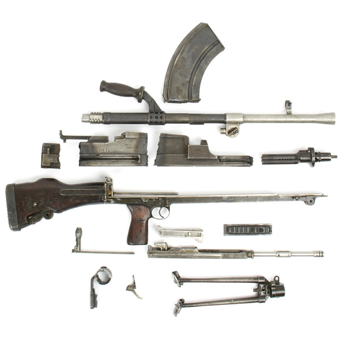 Original Machine Gun Part Sets