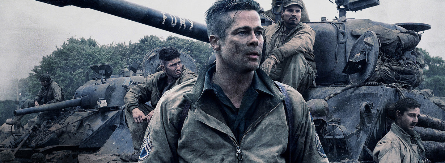 Screen capture from the movie 'Fury'