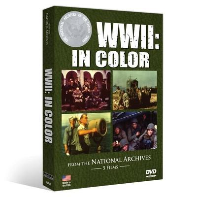 Film: WWII in Color DVD New Made Items