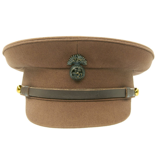 British WWI Officer Service Dress Peaked Cap